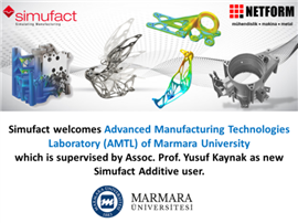 Marmara University is now using Simufact Additive