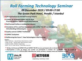 Roll Forming Technology Seminar